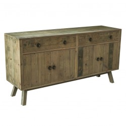large reclaimed pine timber sideboard