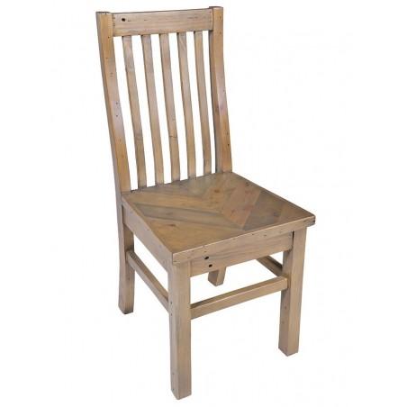 stylish parquet pine dining chair