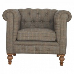 Cappa Chesterfield Armchair Front