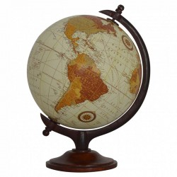 Cappa Small Vintage Globe Front