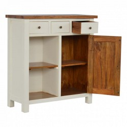 Cappa 3 Drawer Kitchen Unit Open Left Angle