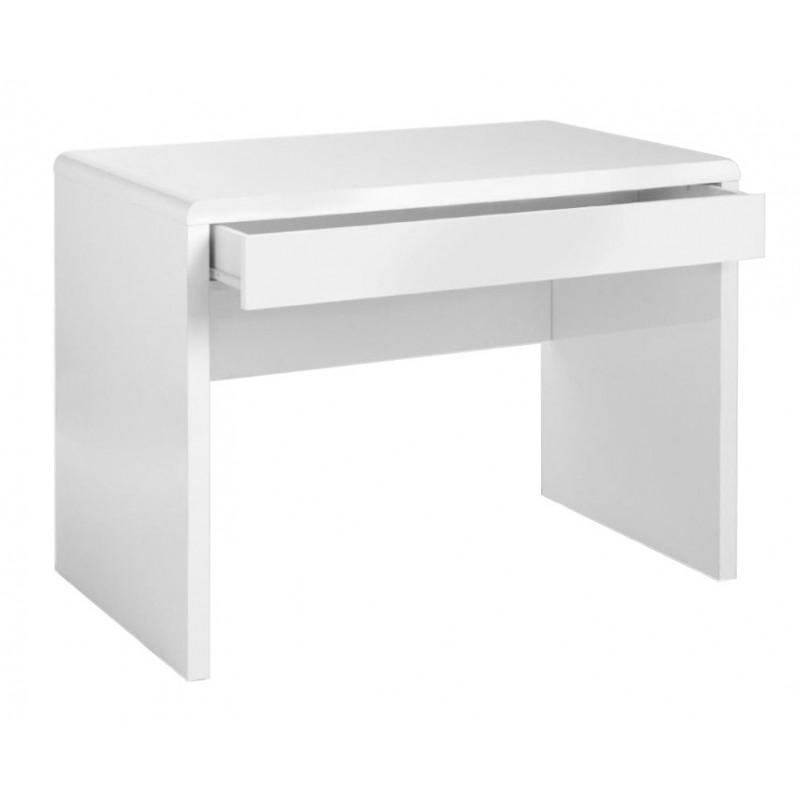 White High Gloss Home Office Desk Invite