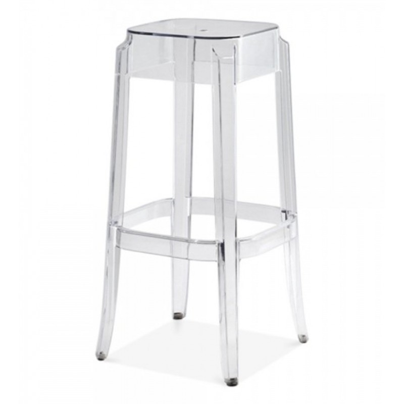 clear polycarbonate ghost chair 1