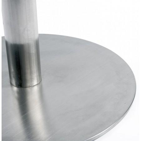 Maglia Pelle Height Adjustable Bar Stool Stainless Steel Base