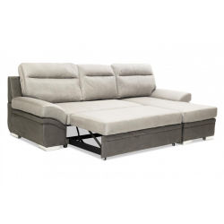 Narni 2 Seater Sofa With Chaise Sofabed.