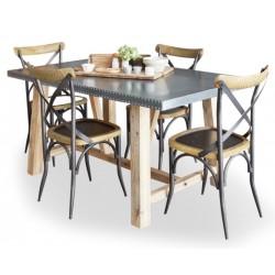 Arezzo acacia dining table 1