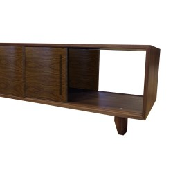 yorkley solid walnut coffee table open right angle
