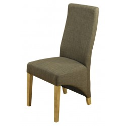 Teramo Hazelnut Brown Oak Dining Chair