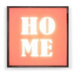 LED SQUARE Light Box - Home White Background