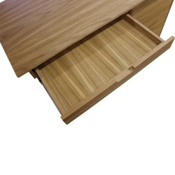 Tuam Workstation Desk - Oak Drawer Detail