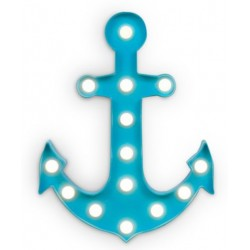Anchor L.E.D light. White background.