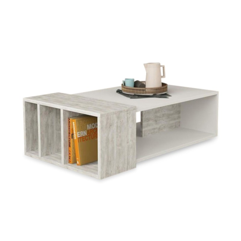 An image of Especial Coffee Table - White and Ancient White