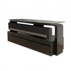 Alphason Black Sonos Playbar TV Stand