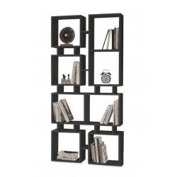 Carril Bookcase Black