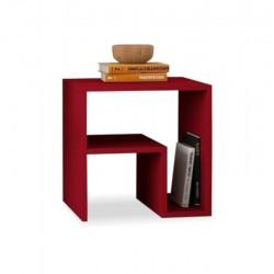 Verdim Side Table Red