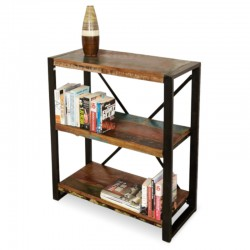 Akola Compact Reclaimed Wood Bookcase