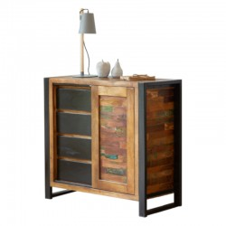 Akola Reclaimed Wood Lounge Storage Cupboard