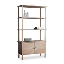 Merlu Modern Open Shelf Unit