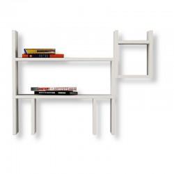 Gato Floating Wall Shelf white