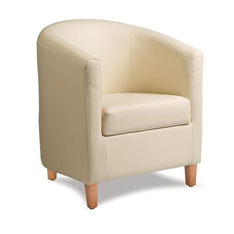 Leather Tub Chair | Potenza