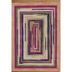 Ohai Square Spiral Rug