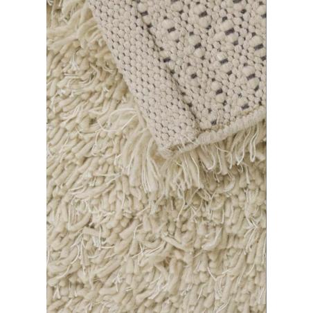 Tarawera Wool Shag Rugs Backing