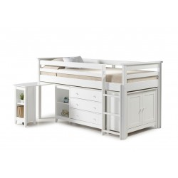 Milo Midi Sleeper white angle view