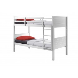 Eden Bunk bed white angle view