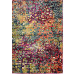 Rug multicolour front view