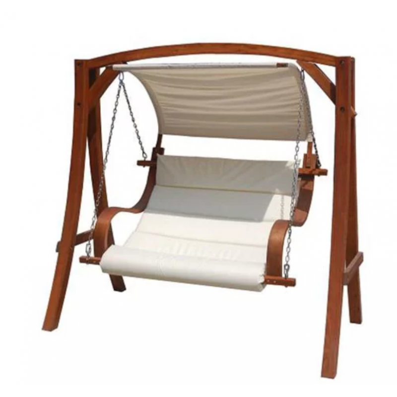 Wooden Swing Seat With Canopy Tregantle