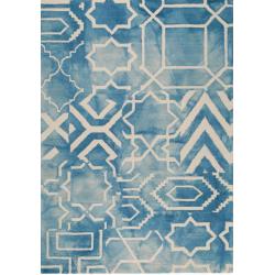 Sheki Geometric Rug, Top