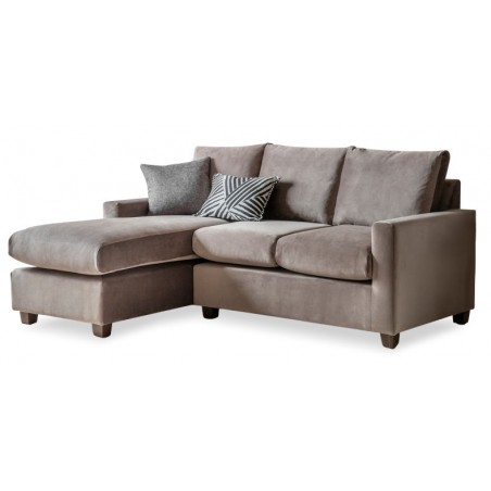 Devon RH Chaise Sofa in Brussels Taupe