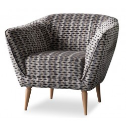Hartley Tub Chair Grey
