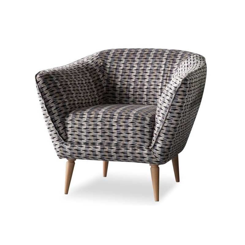 Hartley Tub Chair Grey