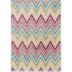 Navaeh Multi-colour Rug, Top