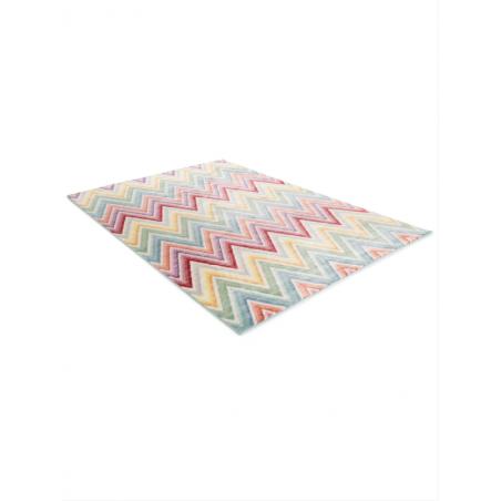 Navaeh Multi-colour Rug, Angle