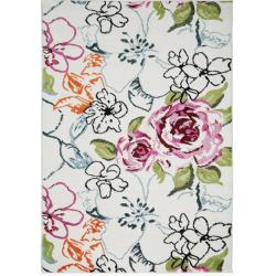 Millie Floral Rug, Top