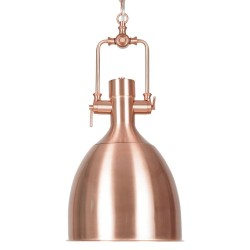 Belo Copper Pendant light copper shade