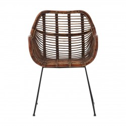 Jose Rattan Chair front view