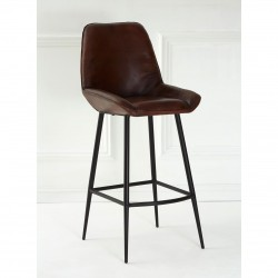Roswell Bar Stool front angled view