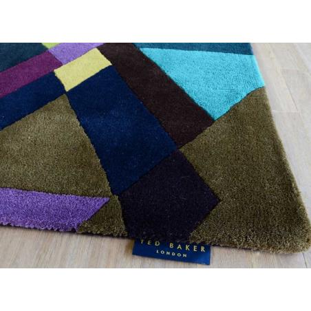 Mosaic Purple Rugs Ted Baker