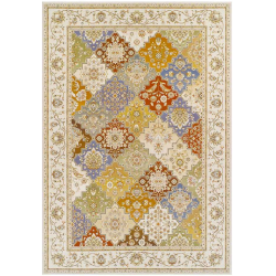 Carla Flatweave Rug, top view