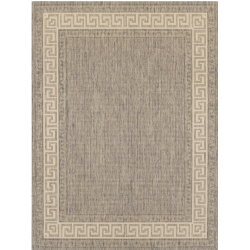Connor Grey Flatweave Rug, top view