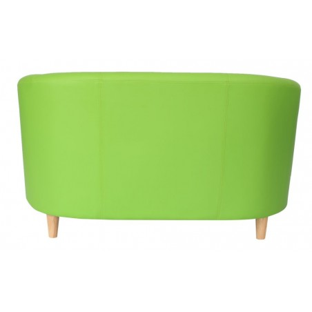Funki Twin Tub Chair Lime Green Rear Veiw