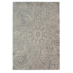Kensington Floral Rug, top view
