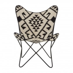 Haji Aztec Butterfly chair, front view