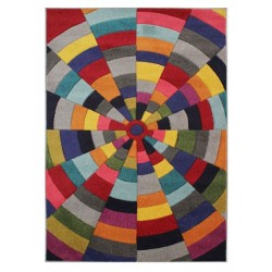 Hearst Spiral Rug, top view