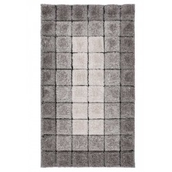 Batum Velvet 3D Cube Rug - Grey