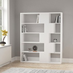 An image of Cara Bookcase White