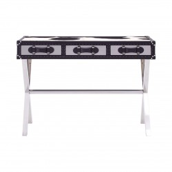 Huxley Cowhide Console Table